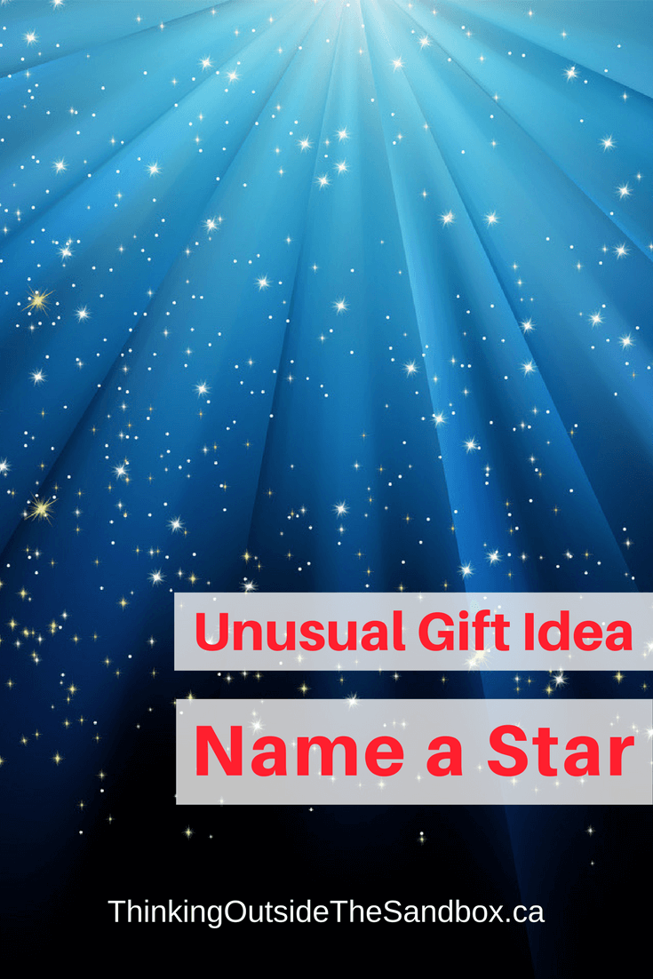 Thinking Outside The Sandbox: Business Unusual-Gift-Idea-Name-a-Star Unusual Gift Idea Name A Star All Posts Blogging Motivation TOTS Business  Gift Ideas