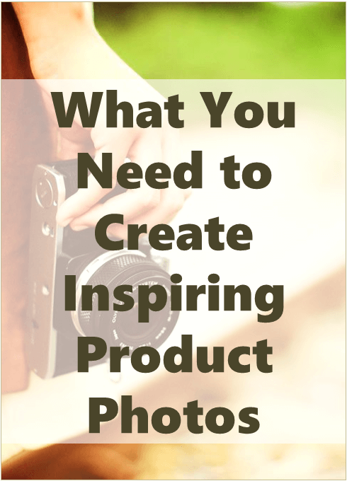 create inspiring product photos