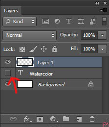 Thinking Outside The Sandbox: Business step-3 Creating Watercolor Text in Photoshop All Posts Blogging  watercolor text watercolor how to