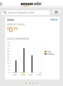 Thinking Outside The Sandbox: Business shipments-1-222x300 How to Use the Amazon Seller App to Keep Track of Shipments All Posts Small Business  seller iphone ecommerce app amazon