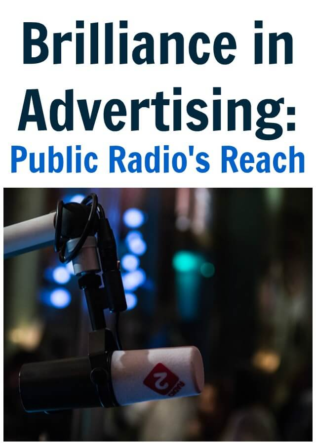 Thinking Outside The Sandbox: Business Brilliance-in-Advertising-Public-Radios-Reach Brilliance in Advertising: Public Radio's Reach Small Business TOTS Business  radio advertising