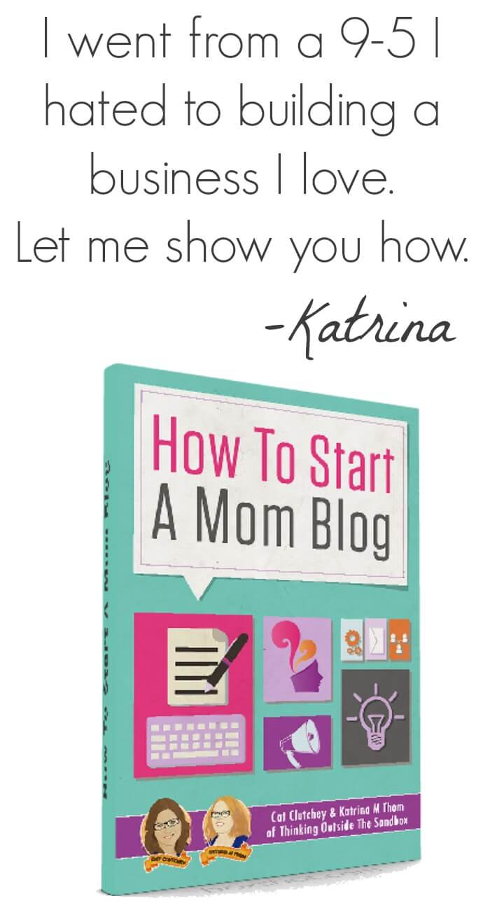 How To Start A Mom Blog Pinterest Promo Image