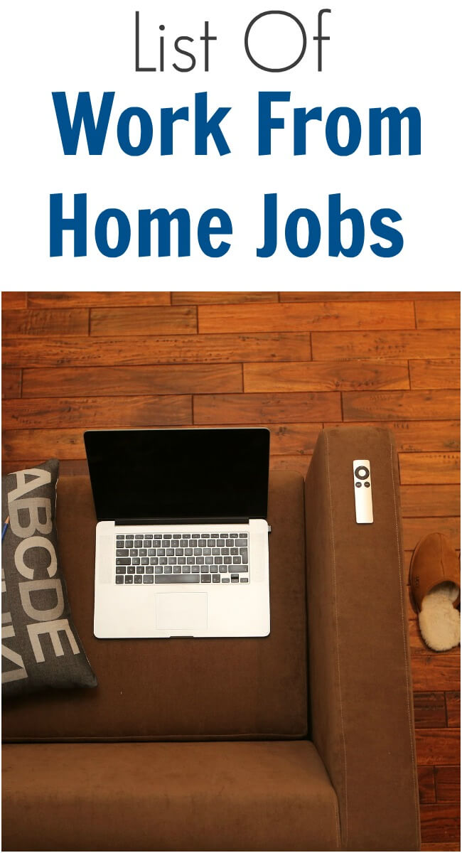 List Of Work From Home Jobs Thinking Outside The Sandbox Business