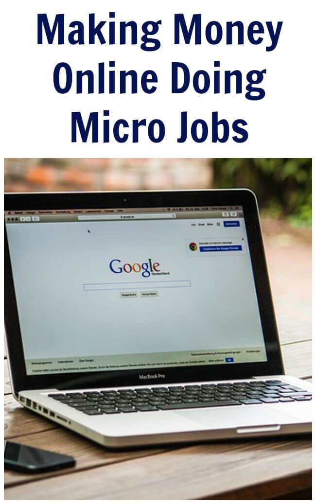 Micro Jobs (making money online) are small tasks that are done on the computer.