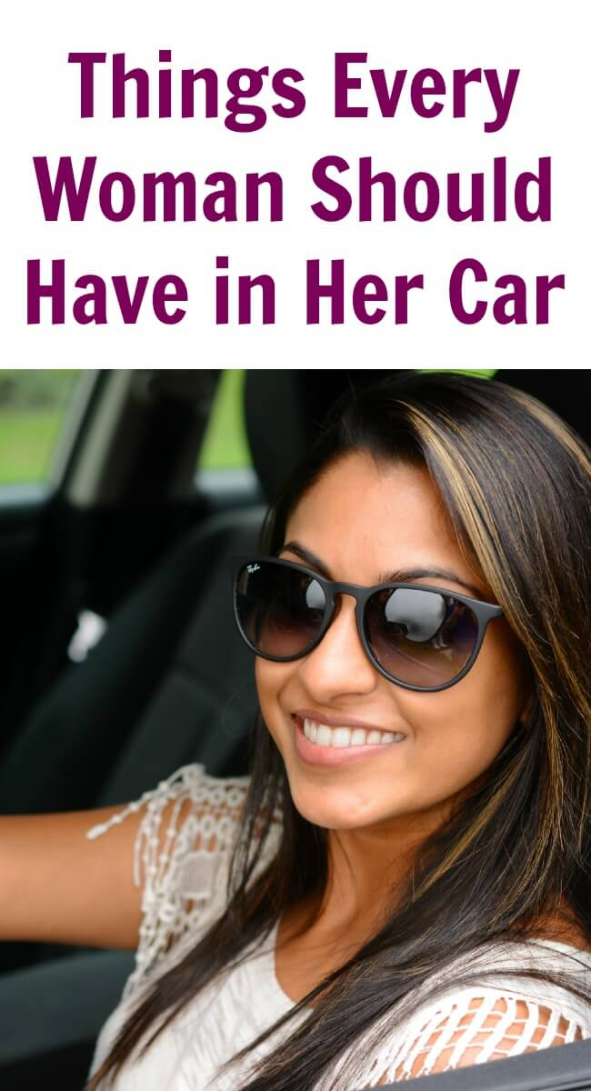 However, there are some Things Every Woman Should Have in Her Car at all times in order to be safe on the road.