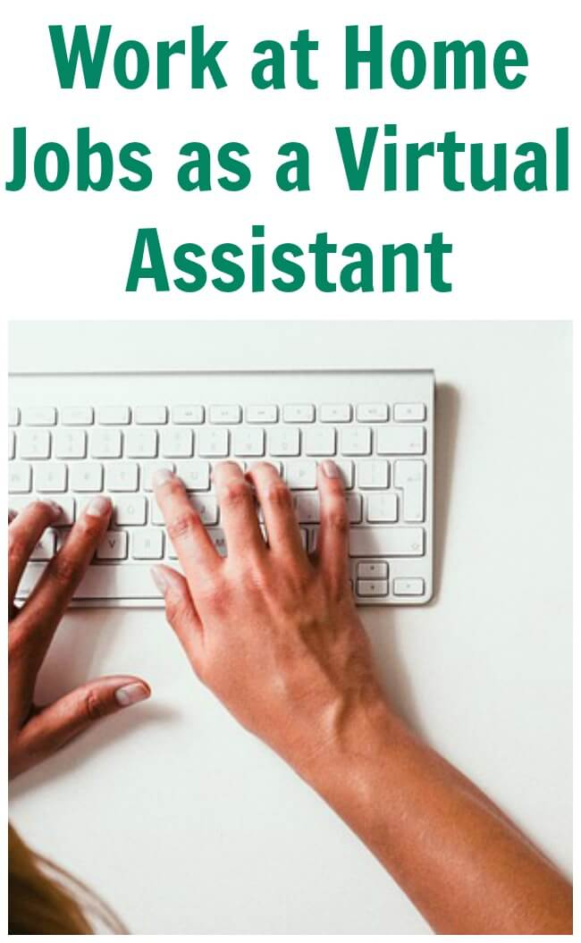 Work at home jobs as a virtual assistant is like a secretary except they work online.