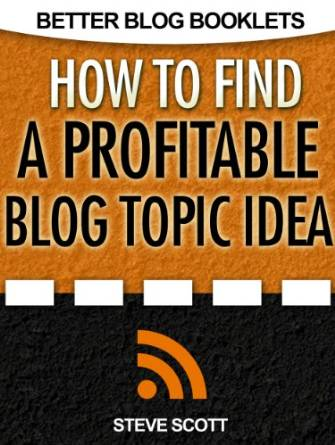Thinking Outside The Sandbox: Business index1 FREE How to Find a Profitable Blog Topic Idea eBook Free eBooks