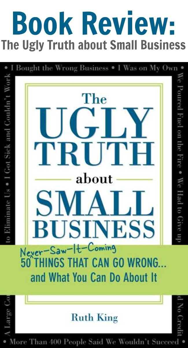 Thinking Outside The Sandbox: Business Book-Review-The-Ugly-Truth-about-Small-Business Book Review: The Ugly Truth about Small Business All Posts Small Business TOTS Business  small business Ruth King