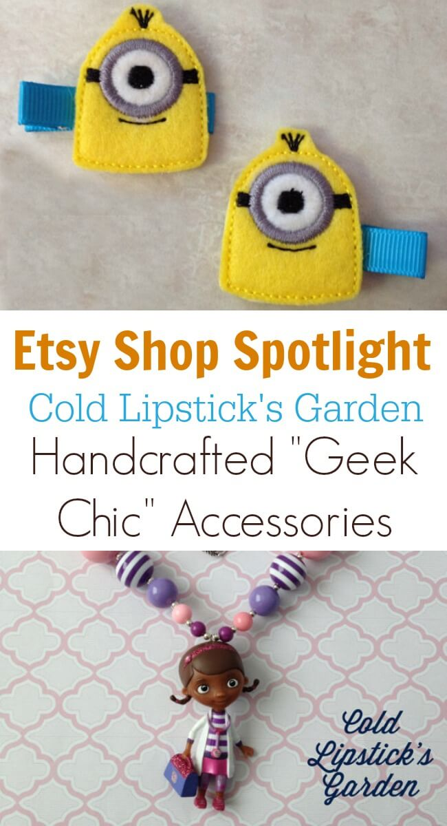 Etsy Shop Spotlight - Cold Lipstick's Garden