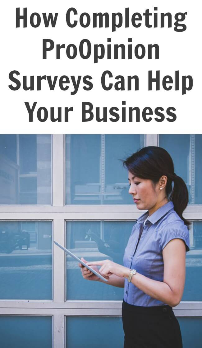 Thinking Outside The Sandbox: Business How-Completing-ProOpinion-Surveys-Can-Help-Your-Business How Completing ProOpinion Surveys Can Help Your Business Finances Small Business TOTS Business  wahm small business how to business advice