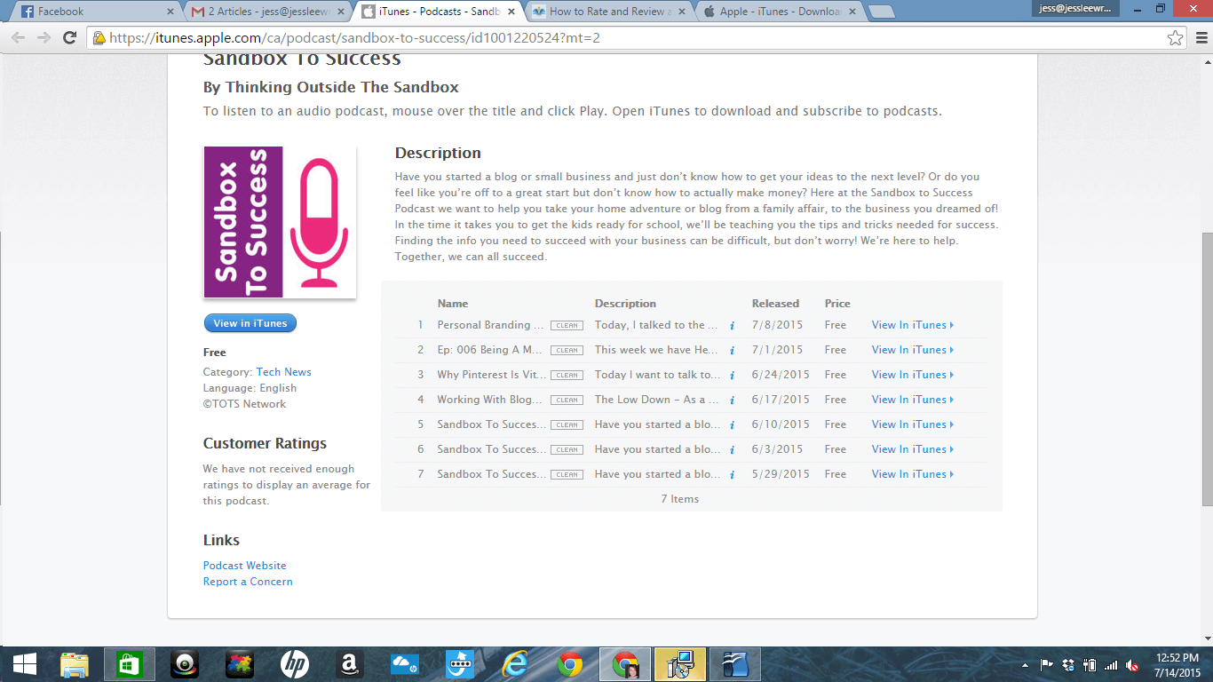 How To Leave A Podcast Review On iTunes