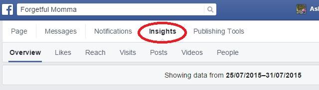 Social Media Statistics - Facebook Insights
