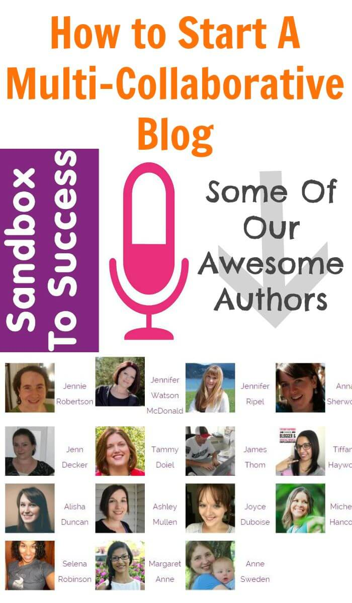 How to Start A Multi-Collaborative Blog - Ep. 008 Sandbox To Success