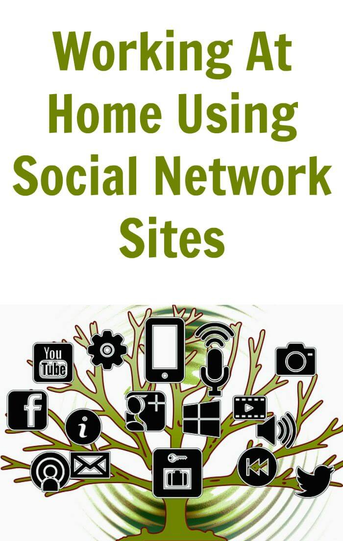 There are several ways that you can earn money working at home using social network sites that you are already part of like Facebook, Twitter and Pinterest.