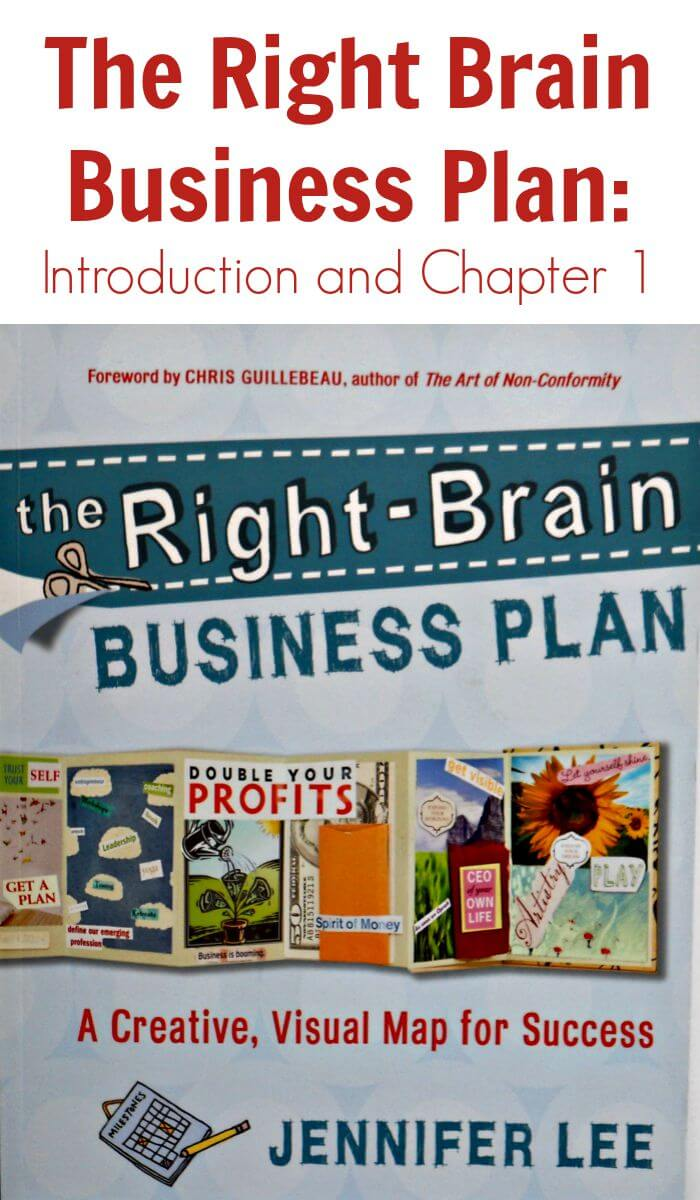 Thinking Outside The Sandbox: Business The-Right-Brain-Business-Plan-Introduction-and-Chapter-1 The Right Brain Business Plan: Introduction and Chapter 1 Small Business TOTS Business  right-brain business plan How to write a business plan creative entrepreneurs business plan artist art businesses