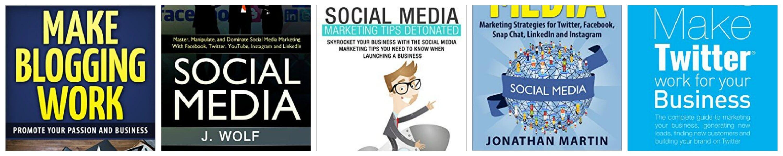 Thinking Outside The Sandbox: Business PicMonkey-Collage 5 FREE Social Media & Blogging eBooks Free eBooks