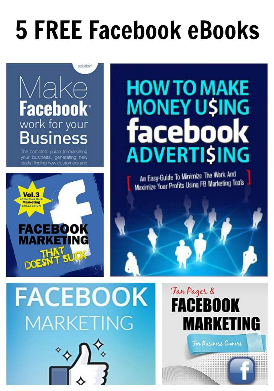 5 FREE Facebook eBooks
