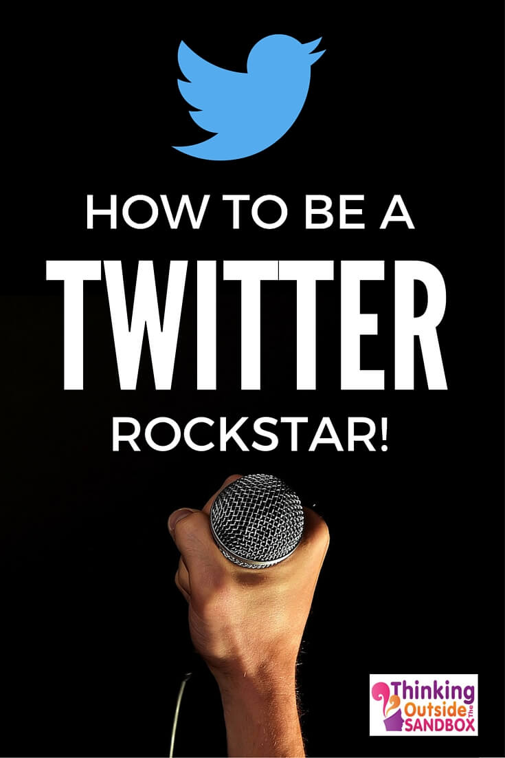 Thinking Outside The Sandbox: Business TWITTER-ROCKSTAR How To Be A Twitter Rockstar! All Posts Social Media TOTS Business  twitter tips social media marketing Free eBooks free ebook