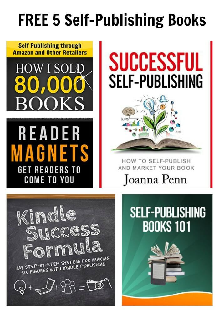 FREE 5 Self-Publishing Books