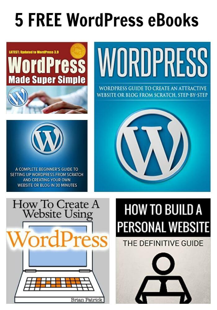 5 FREE WordPress eBooks