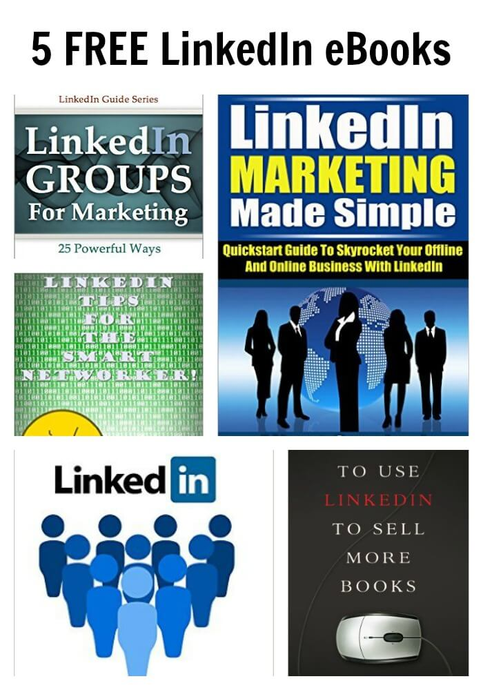 Thinking Outside The Sandbox: Business PicMonkey-Collage 5 FREE LinkedIn eBooks All Posts Free eBooks TOTS Business