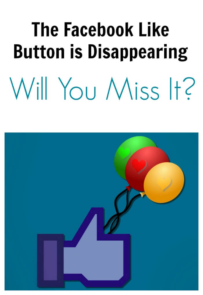 Thinking Outside The Sandbox: Business facebookbutton Will You Miss The Facebook Like Button When It Disappears? Social Media  facebook reactions facebook like button facebook changes