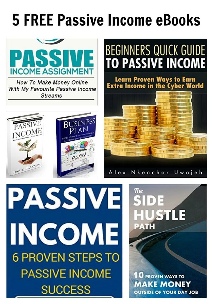 5 FREE Passive Income eBooks