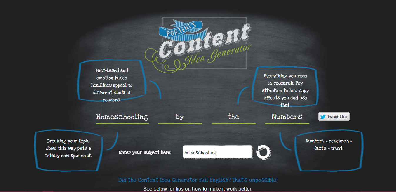 Thinking Outside The Sandbox: Business Content-generator Generating Blog Post Ideas Blogging TOTS Business  Pinterest mind map idea generator blog topics blog ideas