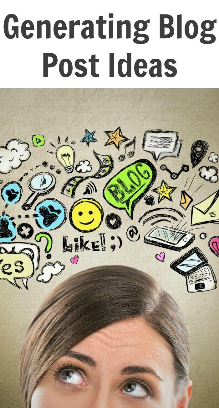 Generating Blog Posts Ideas