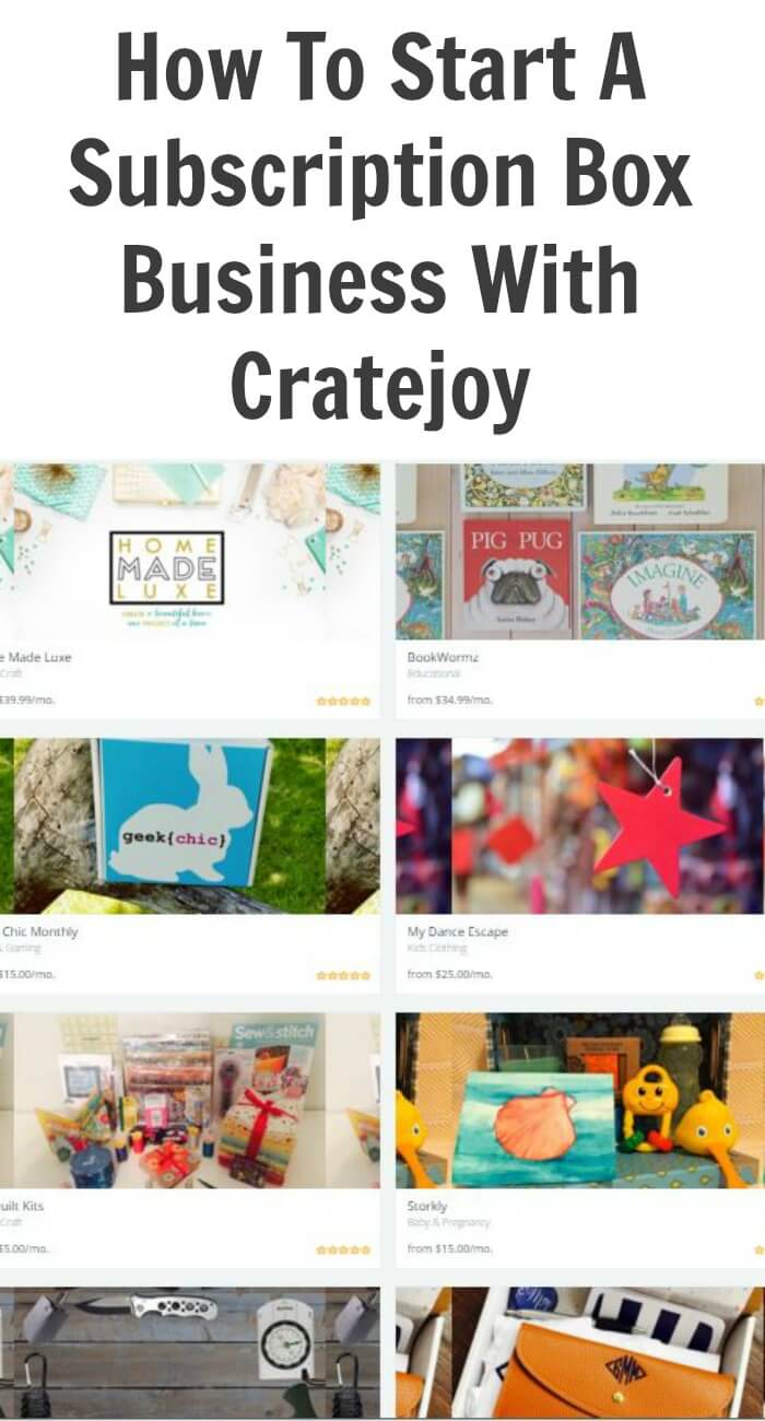 Thinking Outside The Sandbox: Business How-To-Start-A-Subscription-Box-Business-With-Cratejoy How To Start A Subscription Box Business With Cratejoy Small Business TOTS Business