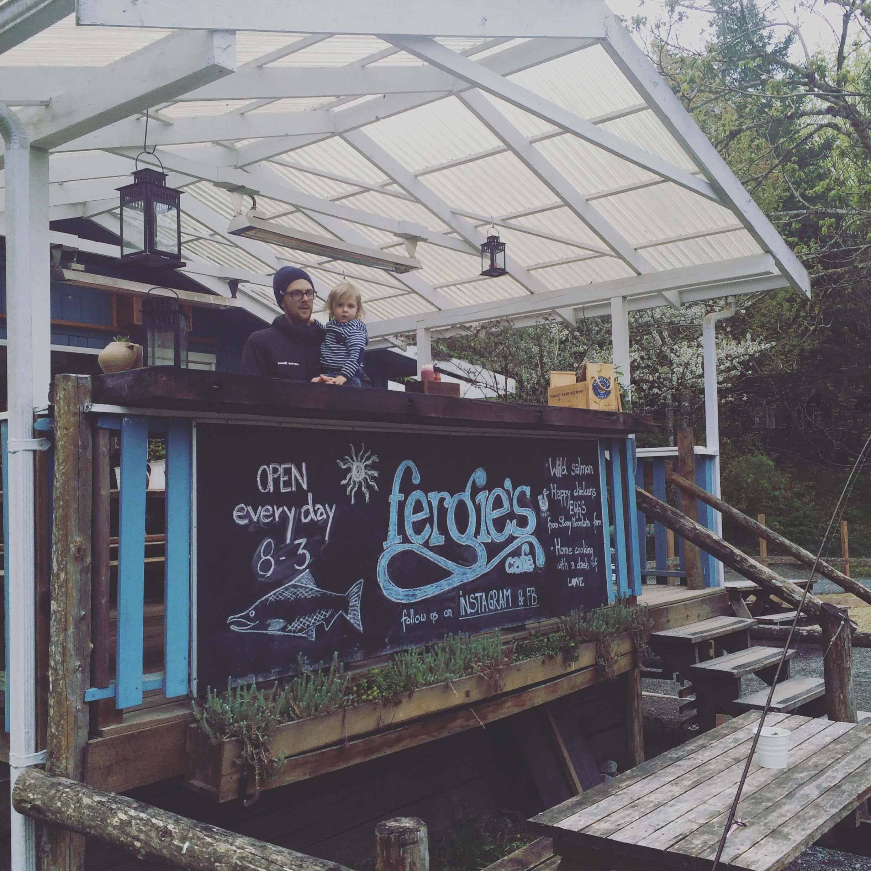 Fergies Cafe and Sunwolf Resort