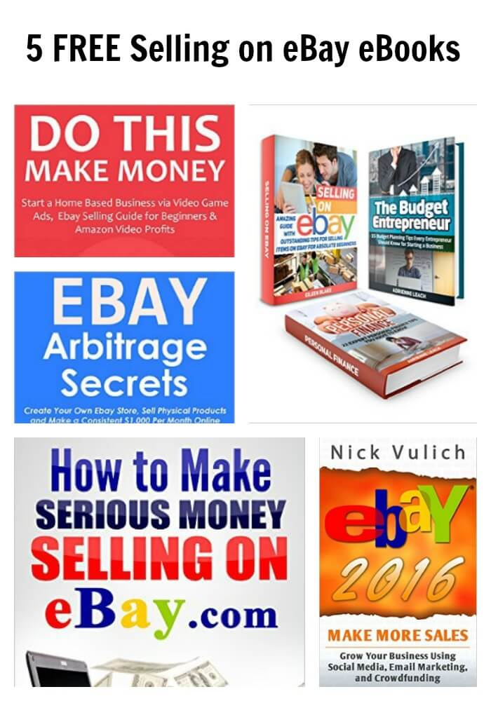 If you have been thinking about selling items on eBay,you will not want to miss out on any of these Free Selling on eBay eBooks!
