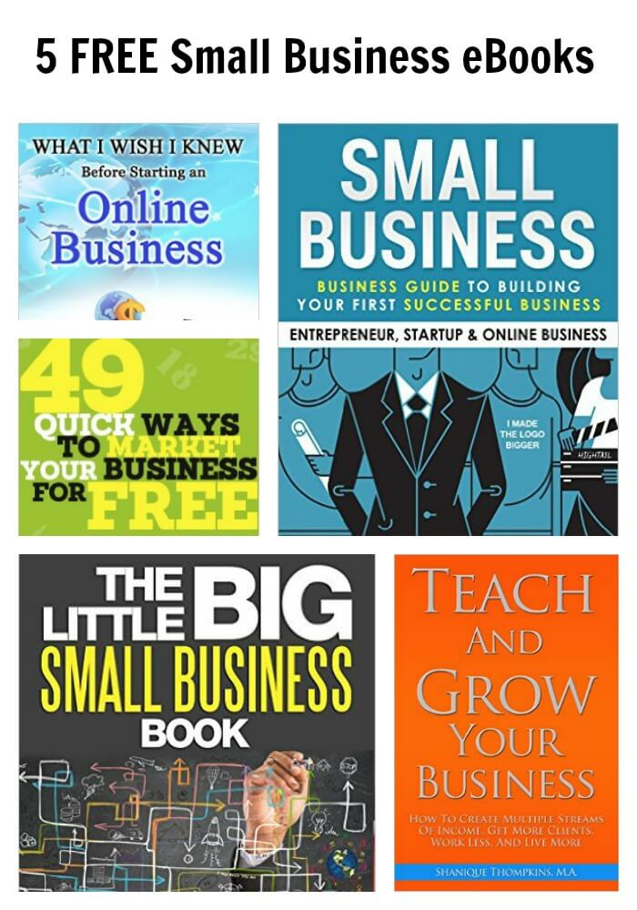 Thinking Outside The Sandbox: Business PicMonkey-Collage-2 5 FREE Small Business eBooks All Posts