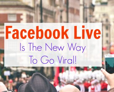 Thinking Outside The Sandbox: Business Facebook-Live-Viral-Post-1-370x297 Facebook Live Is The New Way To Go Viral! Blogging Social Media TOTS Business  Live Streaming Facebook Live facebook like button facebook changes Facebook