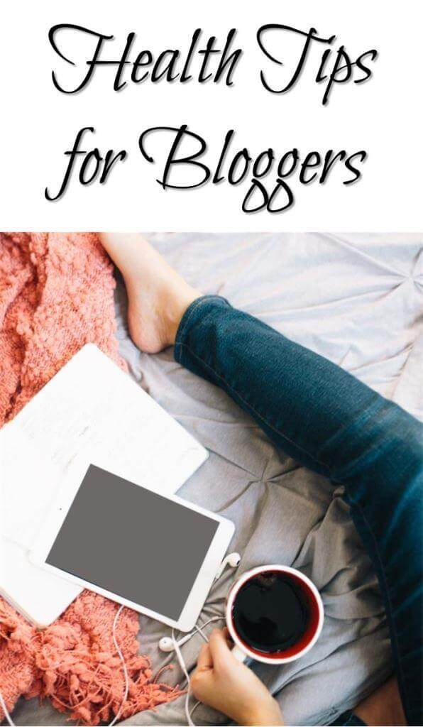 Thinking Outside The Sandbox: Business Health-Tips-for-Bloggers Health Tips for Full-Time Bloggers Blogging TOTS Business  health tips fitness