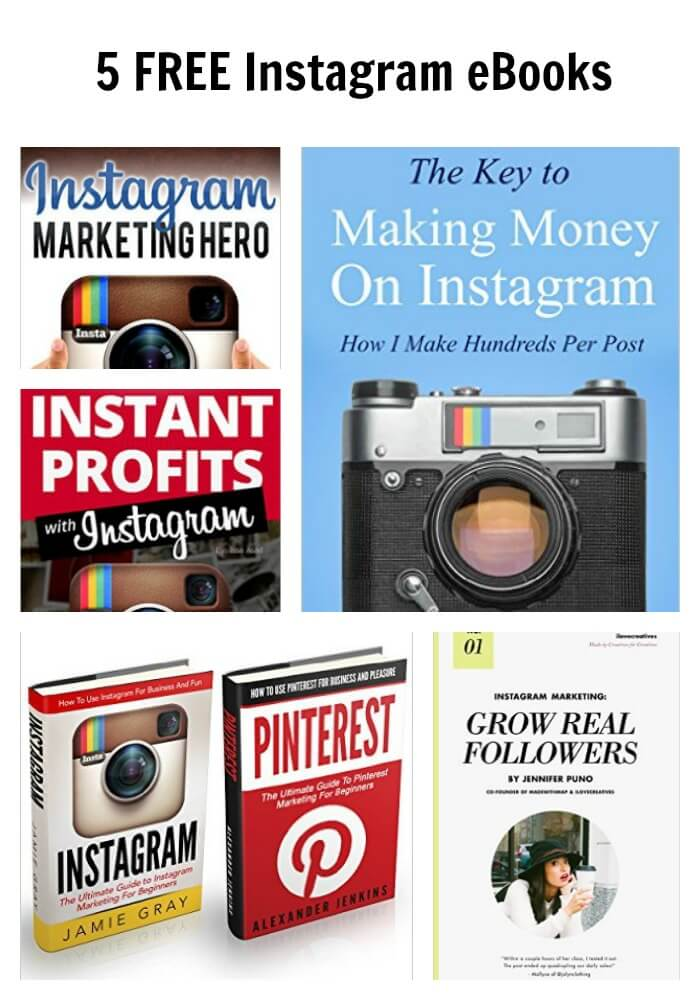 Thinking Outside The Sandbox: Business PicMonkey-Collage-2 5 FREE Instagram eBooks All Posts Free eBooks Small Business Social Media TOTS Business  instagram free ebook ebook