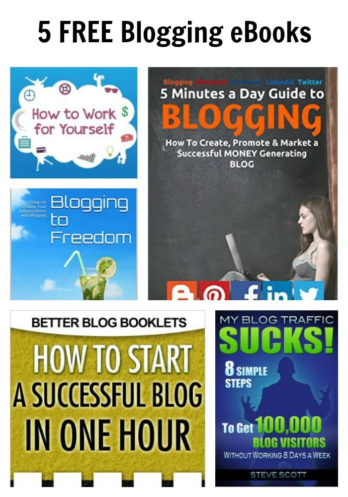 5 FREE Blogging eBooks
