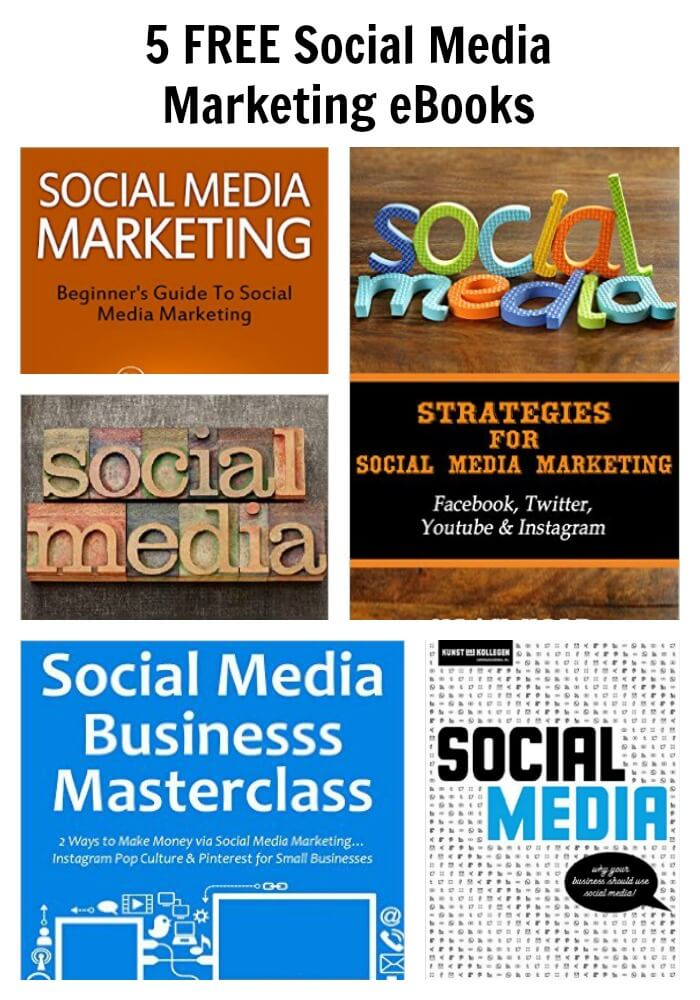 Thinking Outside The Sandbox: Business PicMonkey-Collage-1 5 FREE Social Media Marketing eBooks All Posts