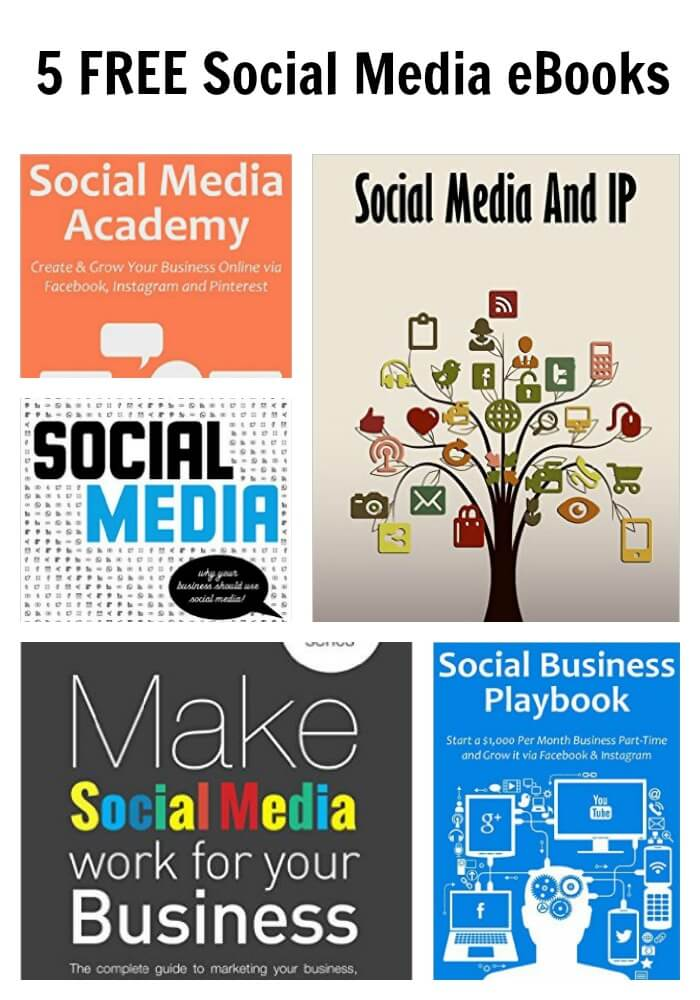 Thinking Outside The Sandbox: Business PicMonkey-Collage-2 5 FREE Social Media eBooks All Posts