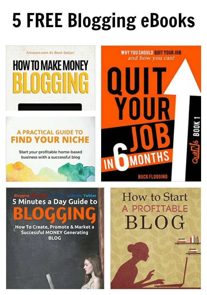Thinking Outside The Sandbox: Business PicMonkey-Collage 5 FREE Blogging eBooks All Posts Free eBooks TOTS Business