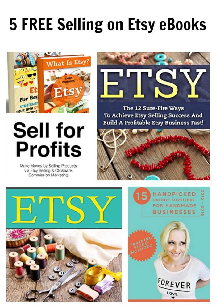 5 FREE Selling on Etsy eBooks