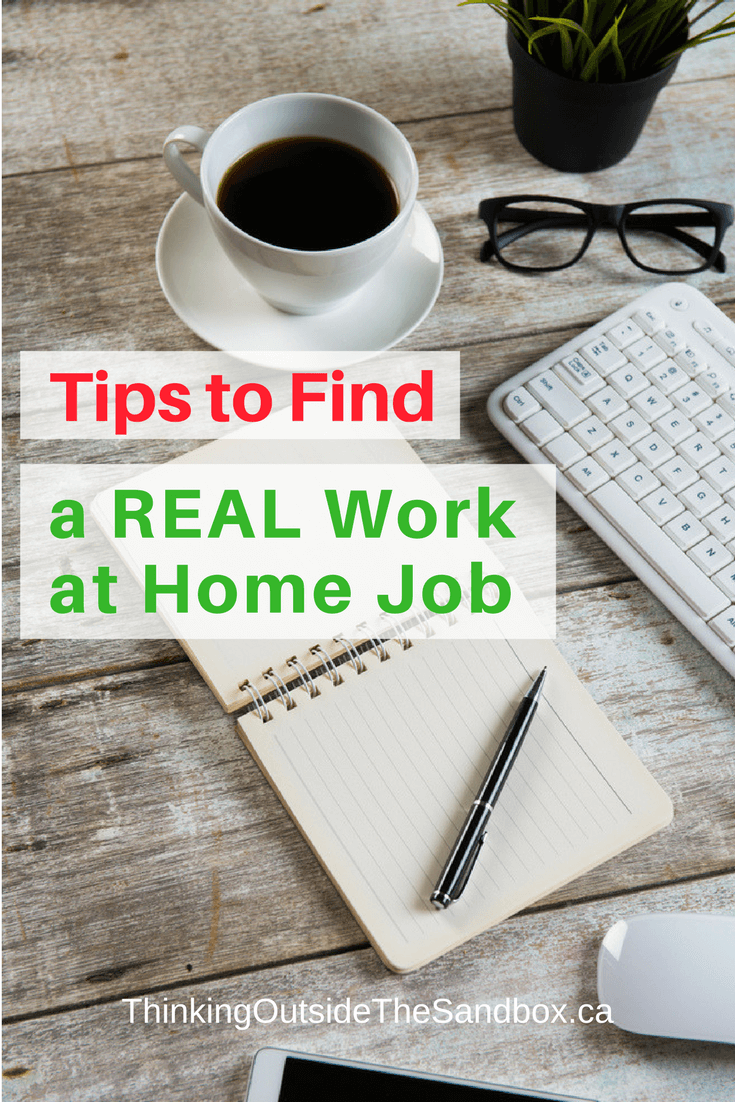 Tips to Find a REAL Work at Home Job