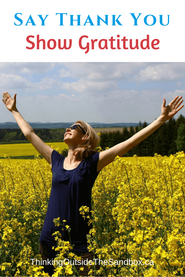 Thinking Outside The Sandbox: Business Dont-Forget-to-Say-Thank-You-Show-Gratitude Don't Forget to Say Thank You - Show Gratitude All Posts Blogging Motivation TOTS Business  thanks support gratitude business advice