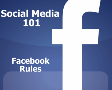 A post by Anna Gervais got me thinking and writing Social Media 101: Facebook Rules.