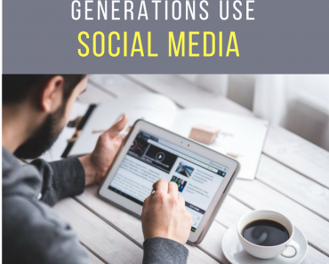 It is interesting to observe and understand how different generations use Social Media.