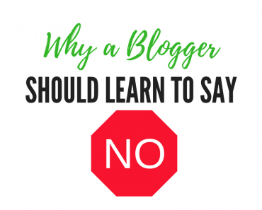 "Why a Blogger Should Learn to Say No - It can be tempting to say ""yes"" to most opportunities, but trying to do it all definitely has its drawbacks."