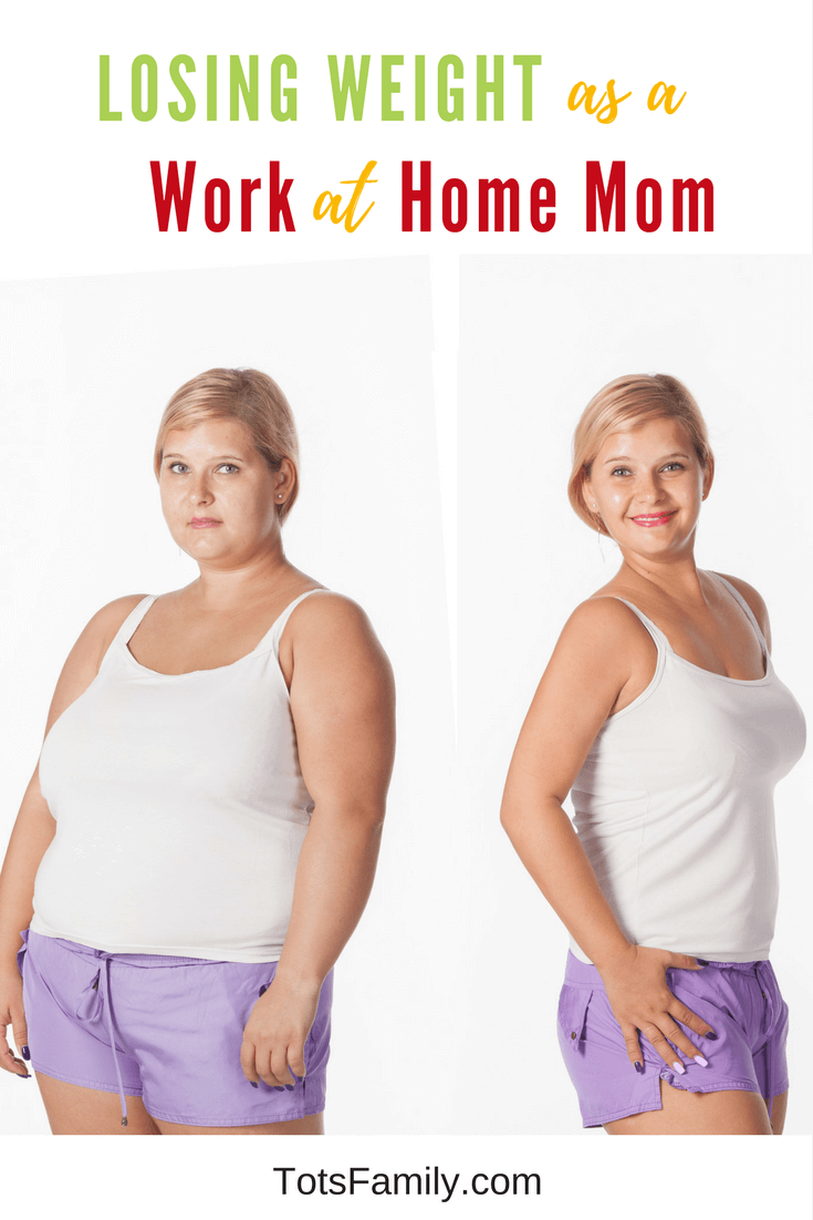 I have been working at home for close to seven years. In those seven years, it was easy to put on about 30 pounds. So let me tell you about losing weight as a Work at Home Mom.