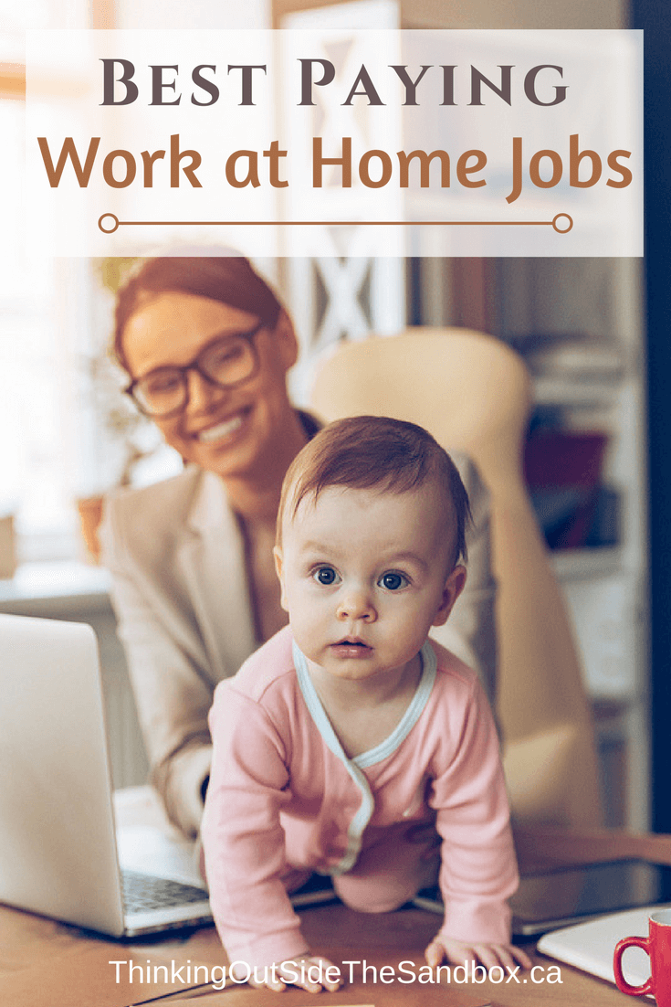 Thinking Outside The Sandbox: Business The-Top-13-Best-Paying-Work-at-Home-Jobs The Top 13 Best Paying Work at Home Jobs All Posts Blogging Free eBooks Motivation Small Business TOTS Business  work at home mom work at home wahms wahm how to work from home