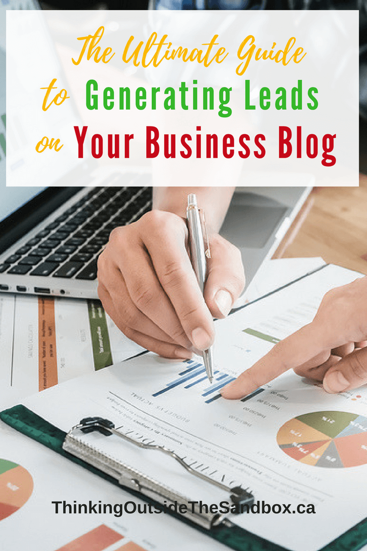 Leads are the lifeblood of any business. Lean more; read The Ultimate Guide to Generating Leads on Your Business Blog