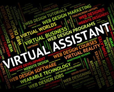 Virtual Assistant Indicating Contract Out And Freelance